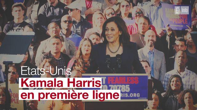 Etats-Unis: Kamala Harris, en première ligne [DR - RTS]