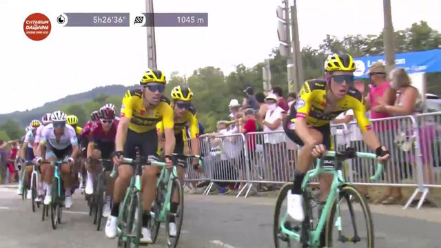 1re étape: Wout Van Aert (BEL) s'impose au sprint [RTS]
