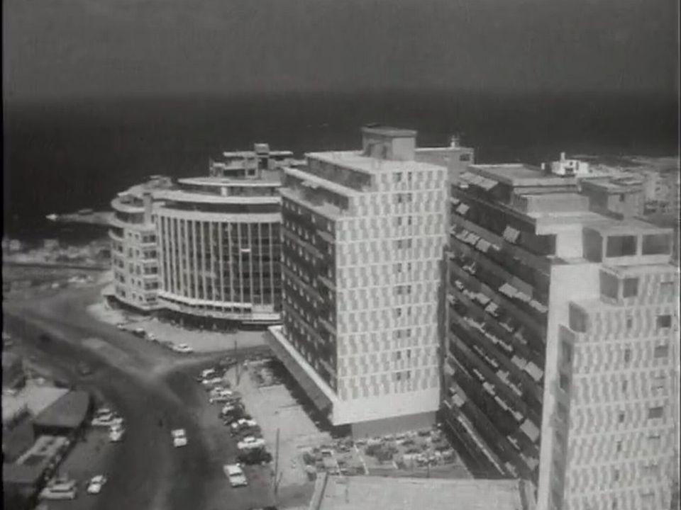 Au début des années 60, le Liban profite de la prospérité économique.