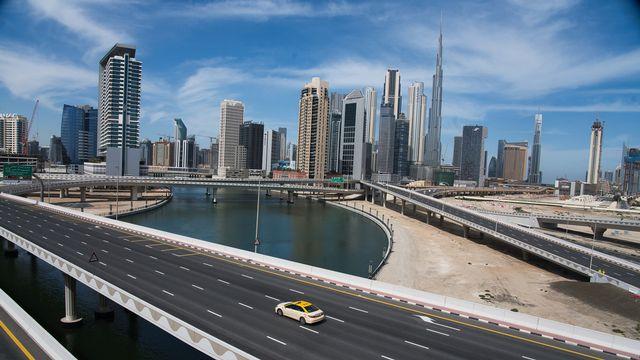 Une vue de Dubaï, capitale des Emirats arabes unis. [AP Photo/Jon Gambrell - Keystone]
