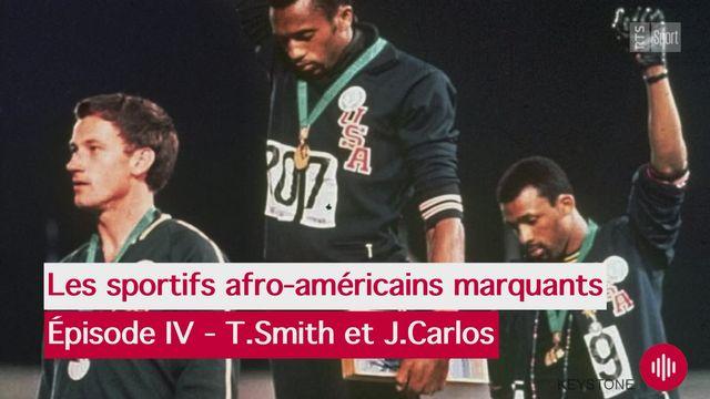 Sport Matin: portraits de Tommie Smith et John Carlos [RTS]