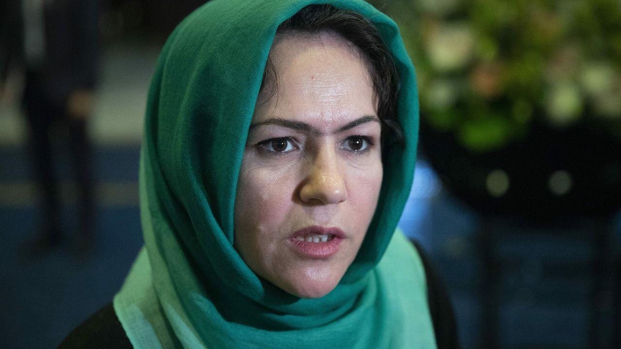 La négociatrice afghane et militante Fawzia Koofi a été blessée par balle. [Pavel Golovkin - AP]