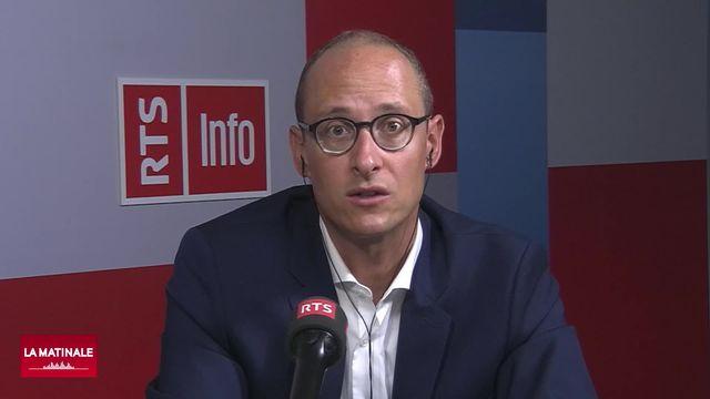 L'invité de La Matinale (vidéo) - Martin Candinas, conseiller national PDC grison, évoque le congé paternité [RTS]