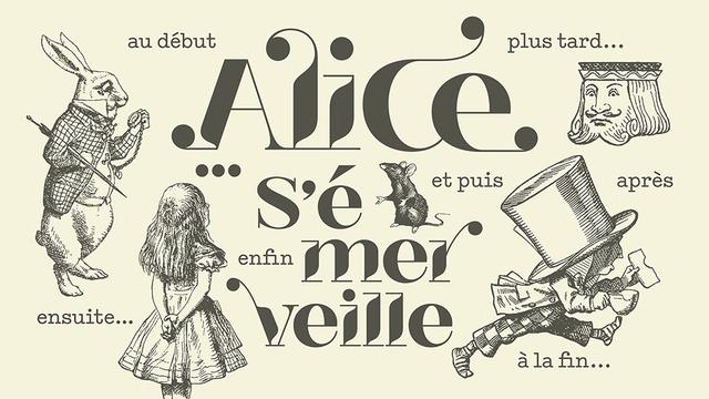 """""""Alice s'émerveille"""" - Logo émission [RTS]"""
