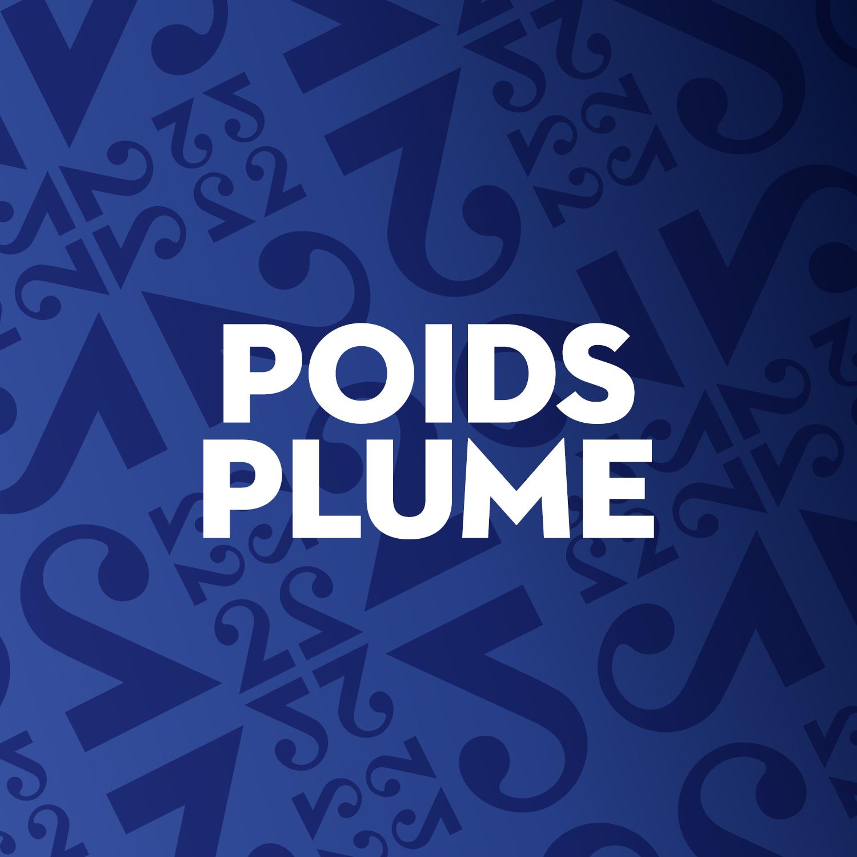 """Poids plume"" - Logo podcast [RTS]"