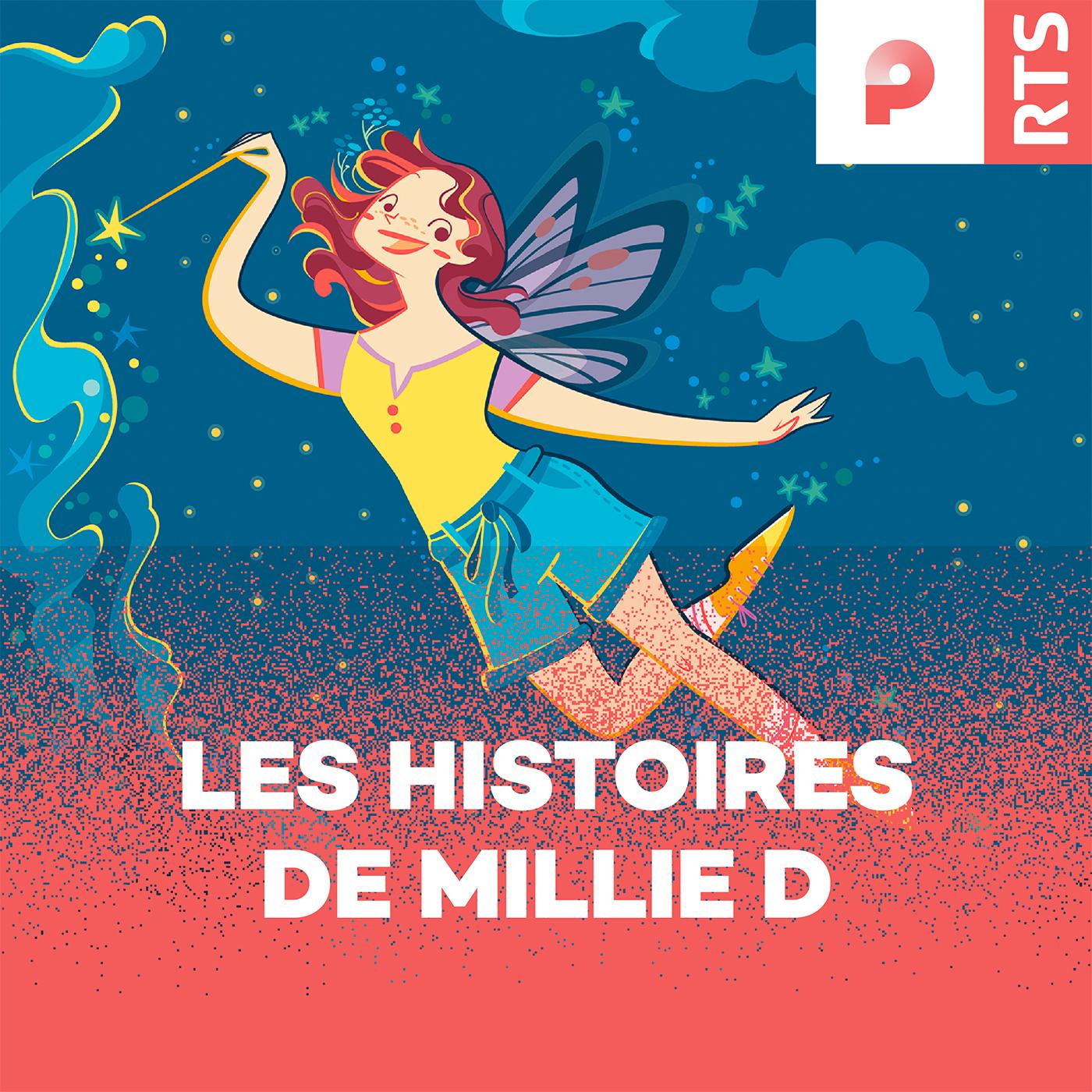 Les histoires de Millie D. (logo podcast)