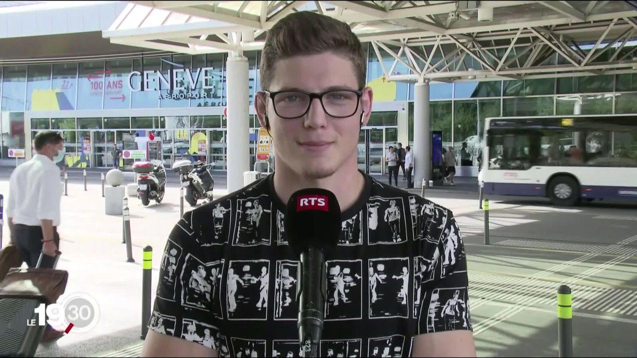Le jeune lutteur Tanguy Darbellay est de retour en Suisse [RTS]