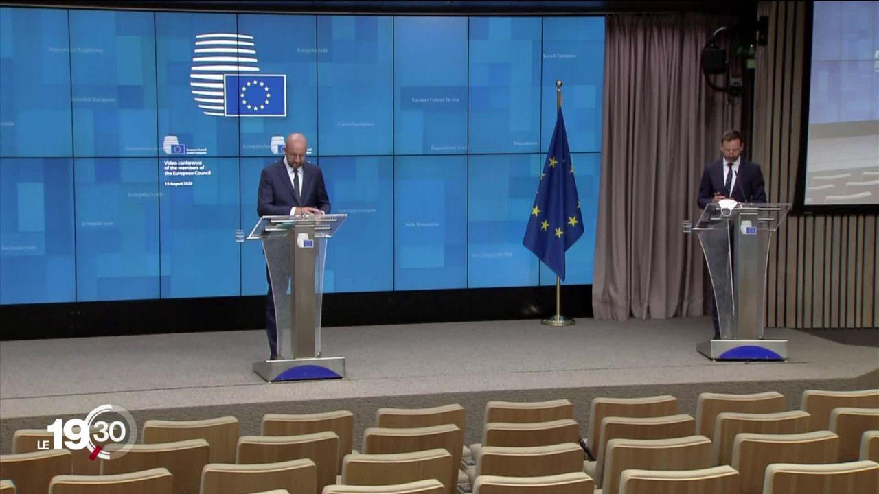 L'Union européenne ne reconnait pas le résultat de l'élection en Biélorussie [RTS]