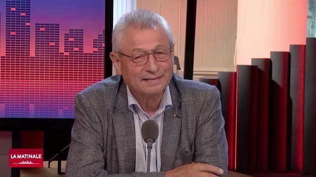 L'invité de La Matinale (vidéo) - Jean-Pierre Grin, conseiller national (UDC-VD) [RTS]