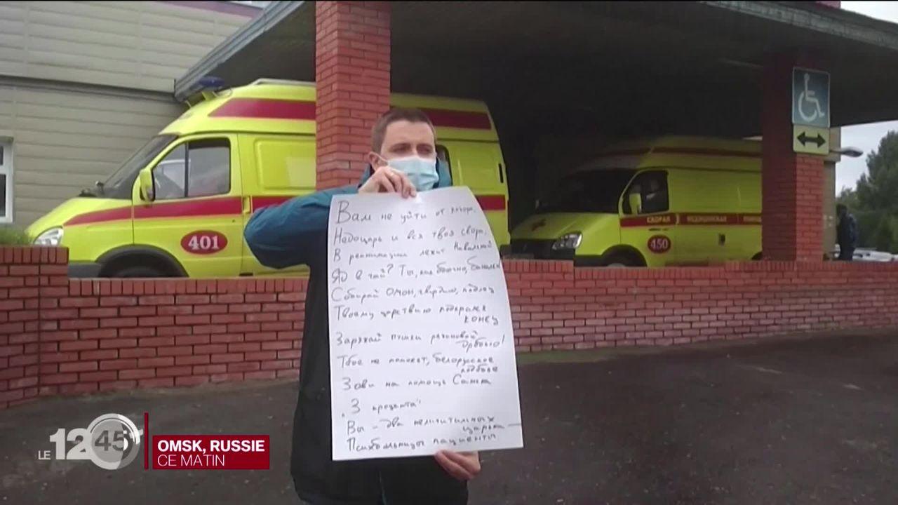 L'opposant russe Alexeï Navalny en réanimation, son entourage crie à l'empoisonnement [RTS]