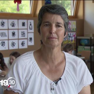 Myriam Clot, enseignante primaire Corseaux-Corsier [RTS]