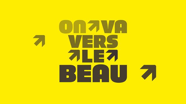 Logo On va vers le beau [RTS]