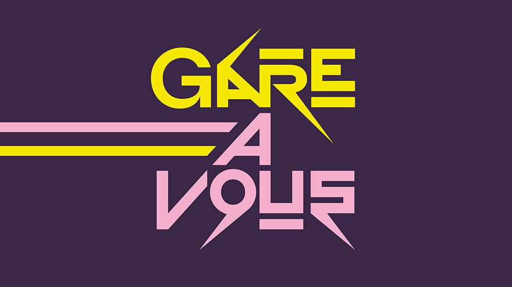 Logo Gare à vous [RTS]