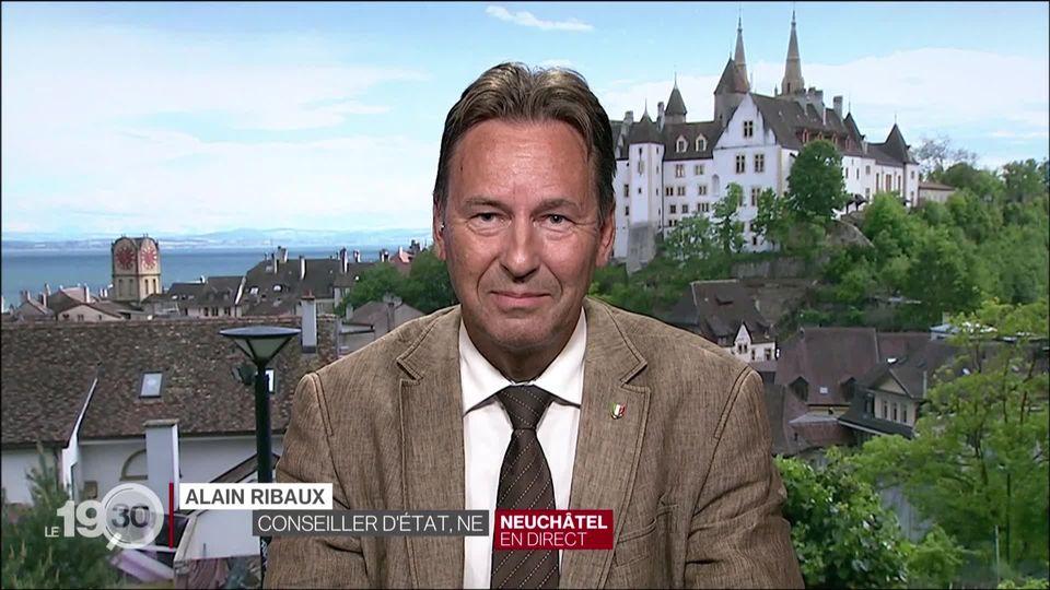 """Le conseiller d'Etat neuchâtelois Alain Ribaux: """"La police a pris la mesure du problème et elle y veille"""" [RTS]"""