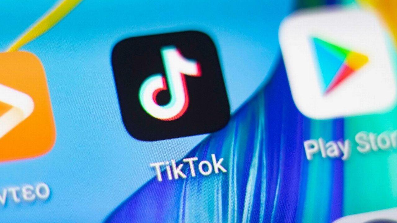TikTok va contester en justice les mesures de Donald Trump. [Nicolas Economou - NurPhoto/AFP]