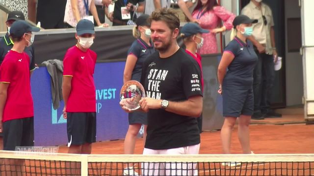 Tennis: Wavrinka s'impose à Prague [RTS]