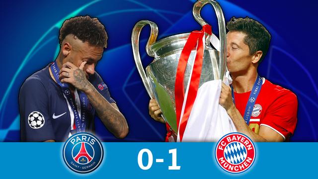 Finale, PSG - Bayern Munich (0-1): le Bayern brise le rêve parisien et remporte une sixième LDC !