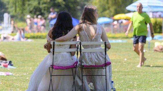 Les catholiques chrétiens reconnaissent le mariage pour toutes et tous. [Anthony Anex - Keystone]