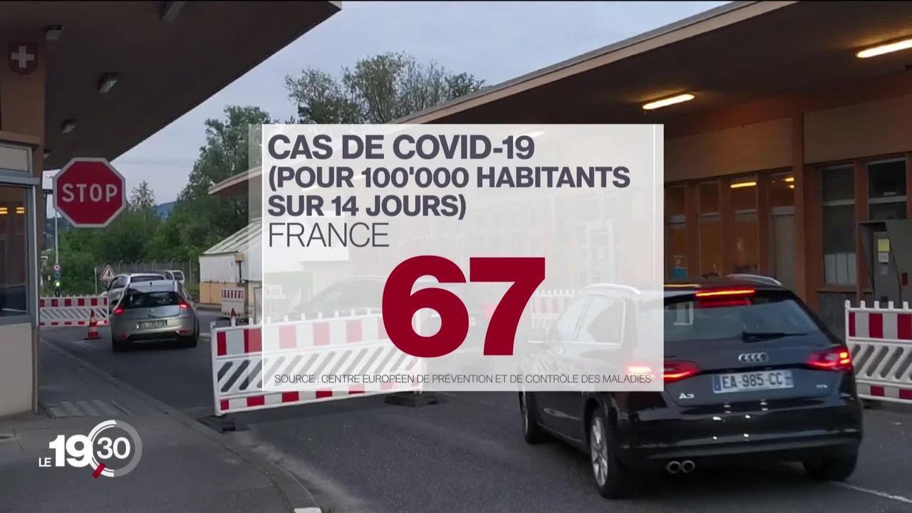 La France pourrait rejoindre la liste rouge des pays touchés par le Covid, une décision lourde de conséquences pour la Suisse. [RTS]