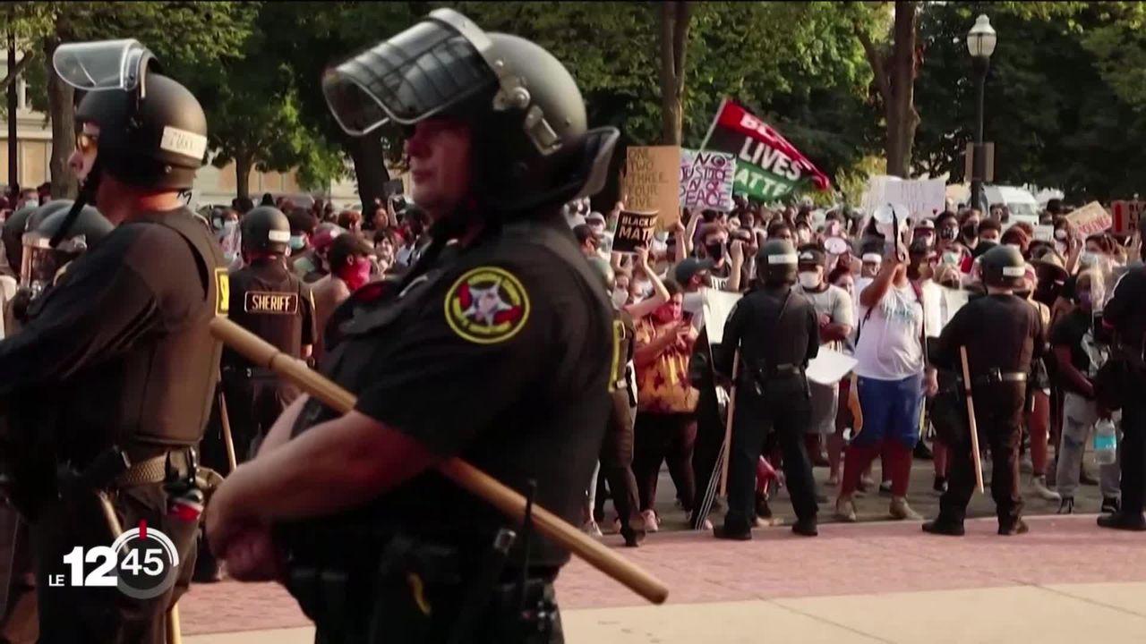Nouvelle bavure policière dans le Wisconsin aux USA. Les protestations contre le racisme reprennent de plus belle. [RTS]