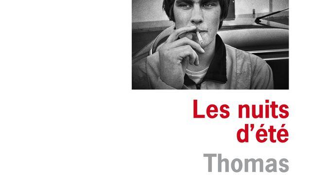 """La couverture du livre """"Les nuits d'été"""" de Thomas Flahaut. [Editions de l'Olivier]"""