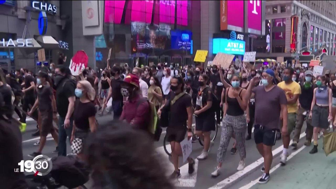 Nouvelles émeutes aux États-Unis après qu'un Afro-Américain a survécu à sept balles tirées dans le dos à bout portant [RTS]