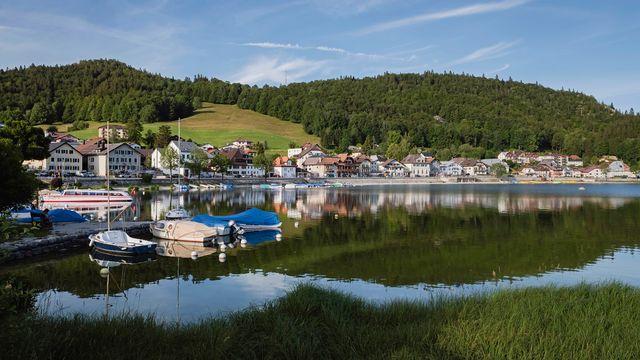 Le Pont, une localité de la Vallée de Joux. [Anouk Ruffieux - L'Oeil d'Anouk]