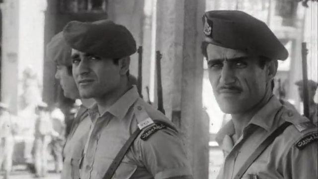 Des soldats libanais en 1969. [RTS]