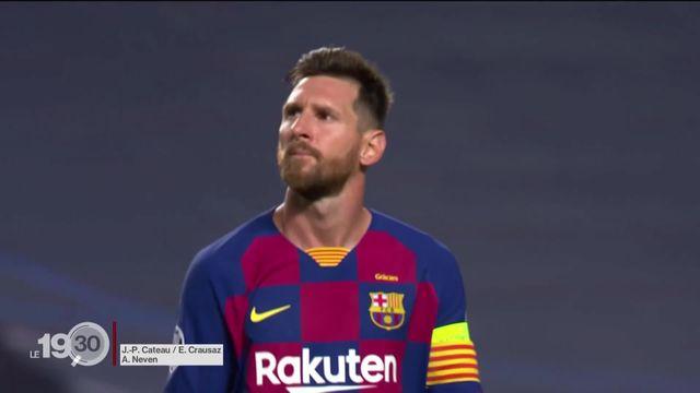 Lionel Messi, la superstar du FC Barcelone, veut quitter le club. Une annonce qui a fait l'effet d'une bombe [RTS]