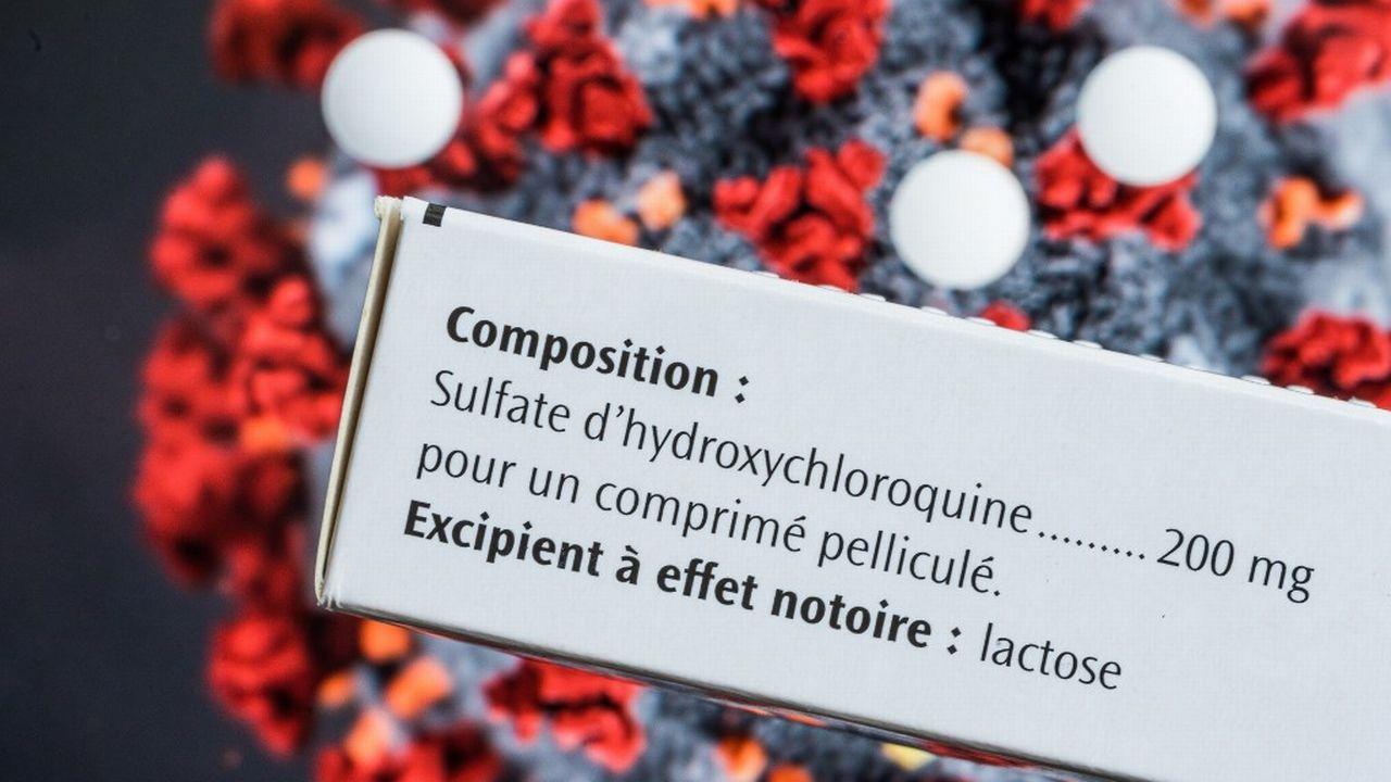 Une méta-analyse franco-suisse indique que le traitement à l'hydroxychloroquine seule n'a pas d'effet sur la mortalité des personnes hospitalisées pour cause de Covid-19. [Phanie Voisin - AFP]