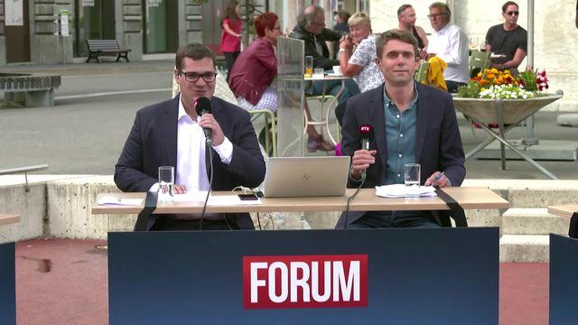 Forum (vidéo) - Présenté par Pietro Bugnon et Renaud Malik [RTS]