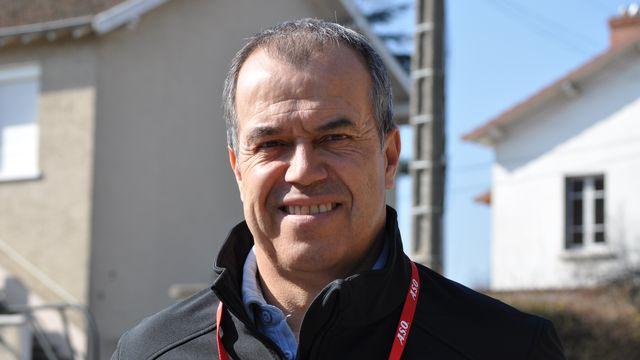 Vincent Lavenu, dirigeant d'équipe cycliste et ancien coureur cycliste français. [Laurie Beylier]