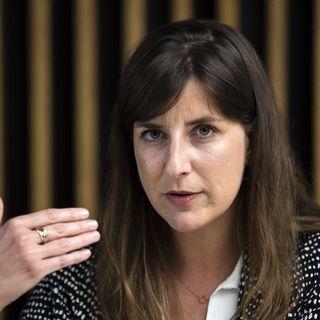 Rebecca Ruiz, conseillère d'État vaudoise en charge de la santé. [Jean-Christophe Bott - Keystone]
