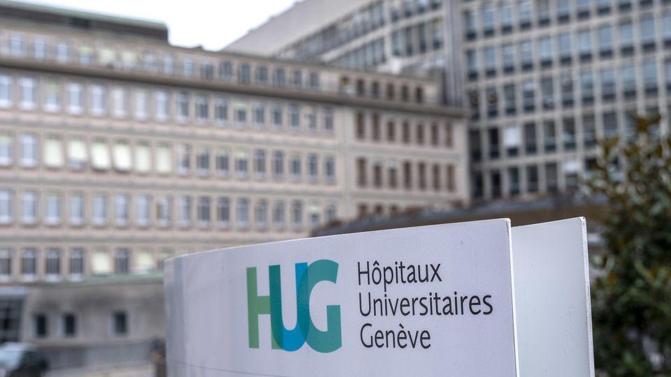 Le bâtiment des HUG à Genève. [Laurent Darbellay - Keystone]