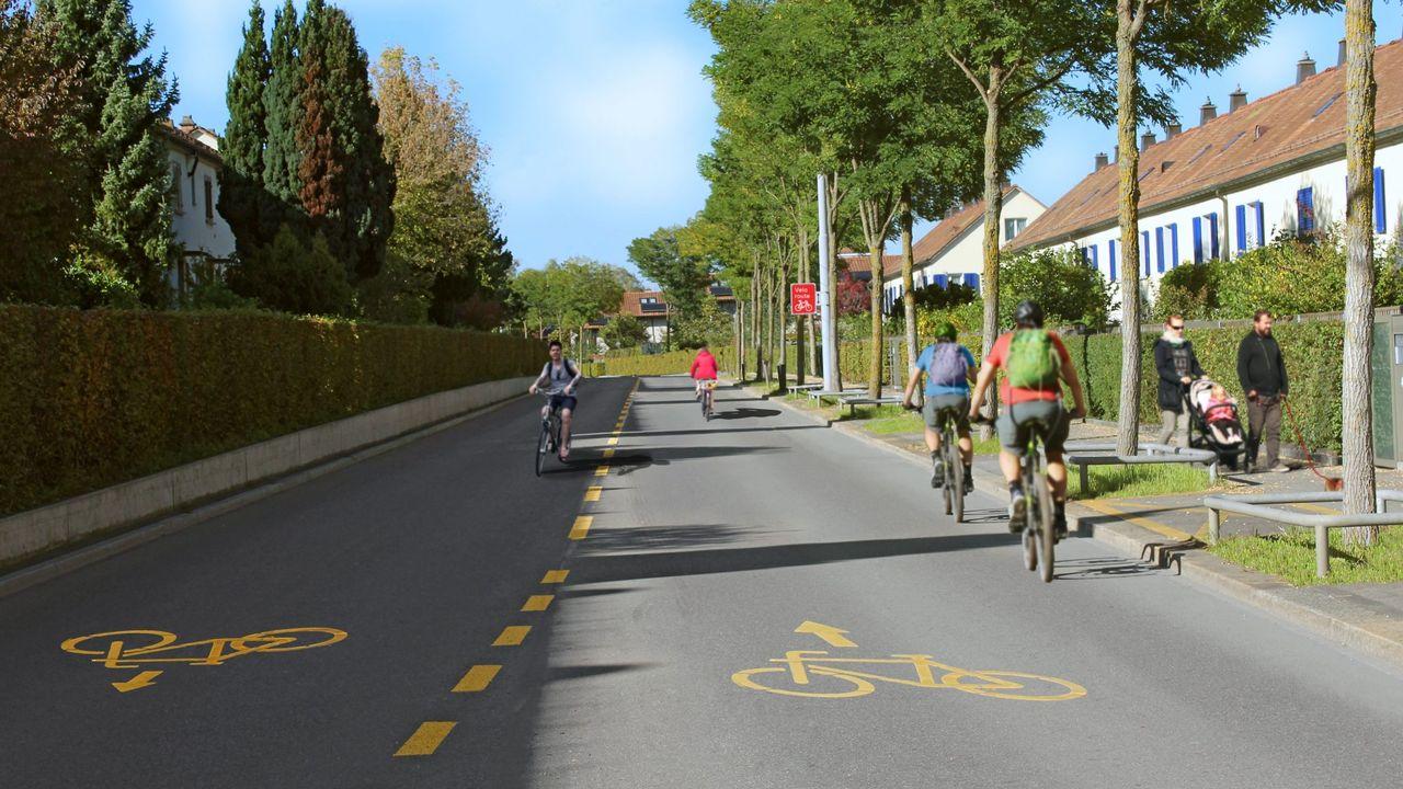 Bientôt des autoroutes à vélo en ville de Zurich? [provelo Zurich]