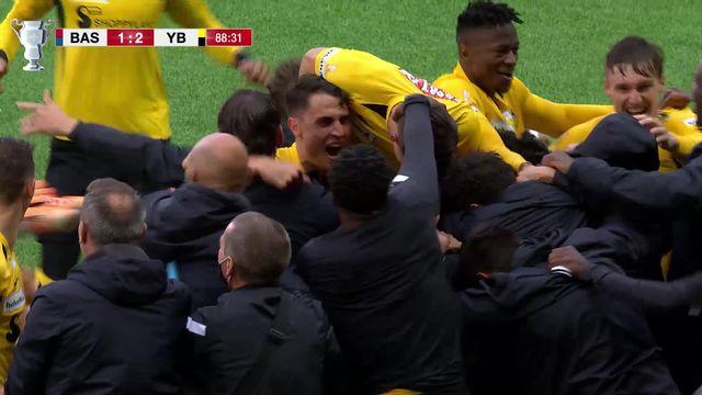 Finale, Bâle - Young Boys (1-2): YB remporte la coupe de Suisse 62 ans après son dernier sacre [RTS]