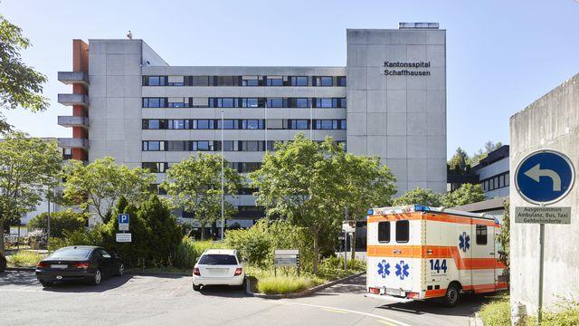 L'hôpital cantonal de Schaffhouse. [Christian Beutler - Keystone]