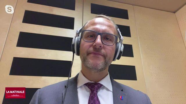 L'invité de La Matinale (vidéo) - Norman Gobbi, évoque l'initiative de limitation de l'UDC [RTS]