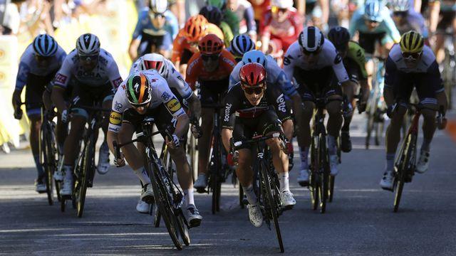La 4e étape du Tour de France a lieu ce mardi 1er septembre 2020. [Kenzo Tribouillard - Keystone]