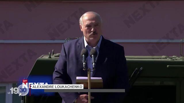 La pression monte sur le président biélorusse Alexandre Loukachenko, chahuté dans une usine [RTS]