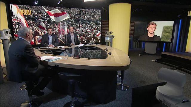 Promesse de nouvelle présidentielle en Biélorussie: interview d'Andreï Vaitovich [RTS]
