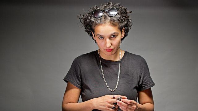 L'écrivaine Fatima Daas. [Olivier Roller  - Editions Noir et Blanc]