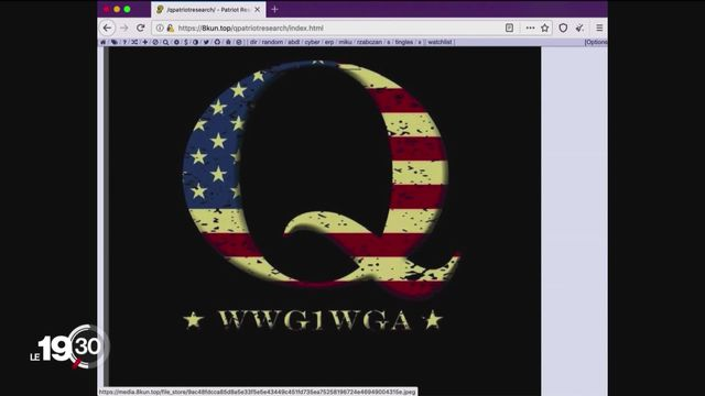 Aux Etats-Unis le parti républicain verse parfois dans le complotisme avec en vedette le mouvement QAnon [RTS]