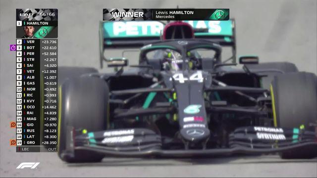 GP d'Espagne (#6): Lewis Hamilton (GBR) s'impose [RTS]