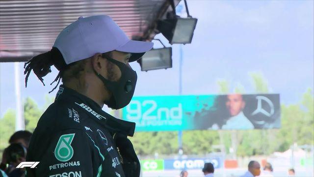 GP d'Espagne (#6), Q3: 92ème pole en carrière pour Lewis Hamilton (GBR) [RTS]