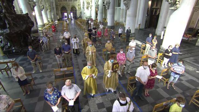 Messe de l'Assomption en direct et en Eurovision depuis la cathédrale Saint-Rombaut de Malines en Belgique [RTS]