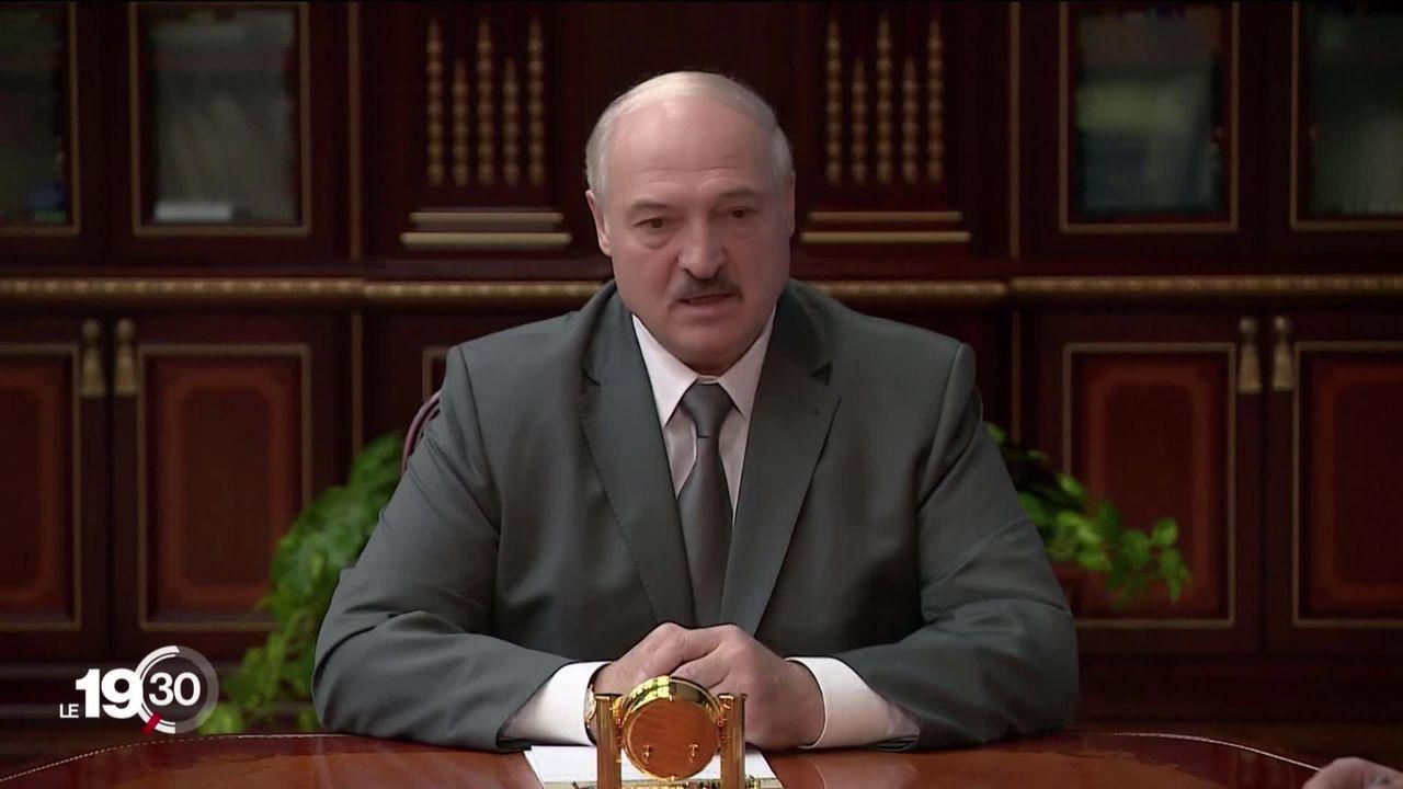 La pression de la rue continue en Biélorussie, le président appelle la Russie à l'aide. [RTS]