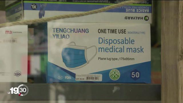 Enquête sur le prix du masque de protection. [RTS]
