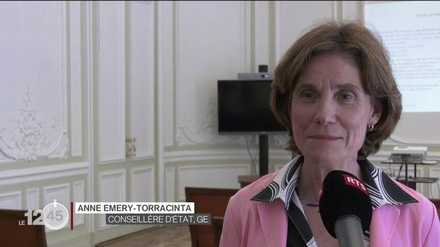 Anne Emery-Torracinta évoque la rentrée scolaire à Genève [RTS]