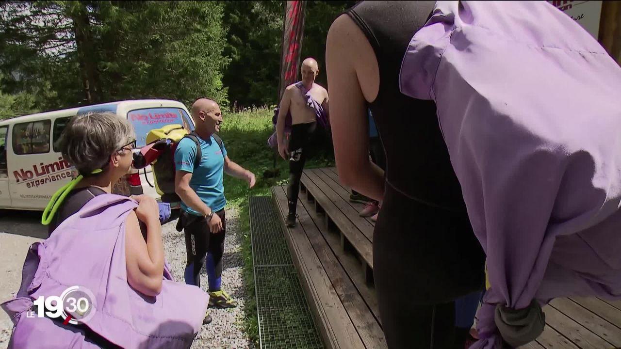 Des touristes espagnols perdent la vie dans un accident de canyoning à Saint-Gall. [RTS]